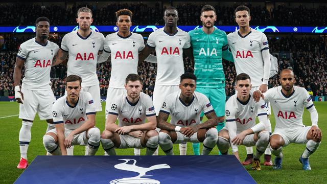 Jadwal Tottenham Hotspur 2020