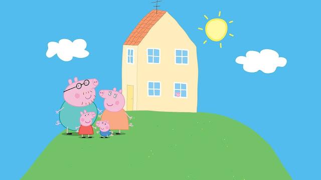 peppa pig background