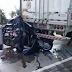 Duas pessoas morrem após carro ser esmagado por carretas na BR 116, em Serrinha