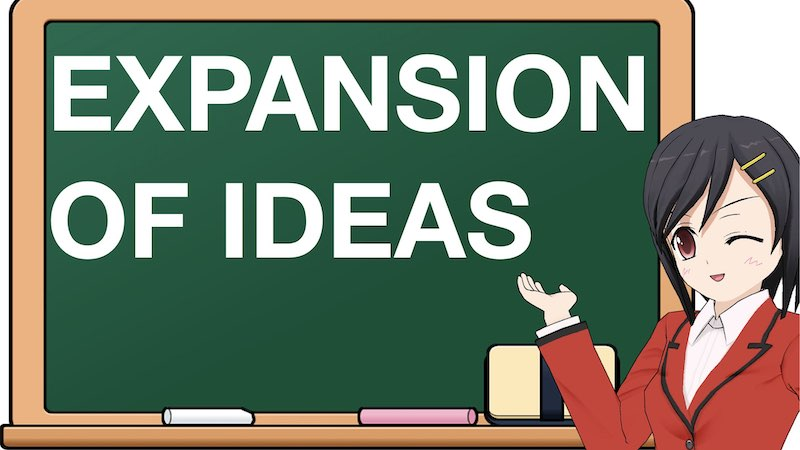 SCHOOL SECTION EXPANSION OF IDEAS