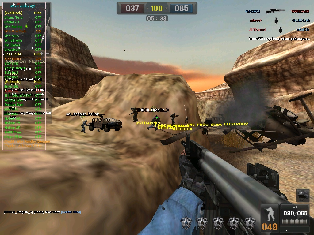 Cheat Point Blank 5 April 2012 (Wallhack, ESP, Fast Plant ...