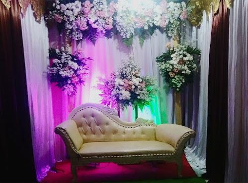 Backdrop untuk acara lamaran dan akad nikah