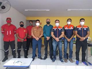 O Secretário Municipal de Meio Ambiente de Bom Jardim participou de uma Capacitação em Proteção e Defesa Civil.