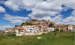 Skyline de Culla, provincia de Castellón.
