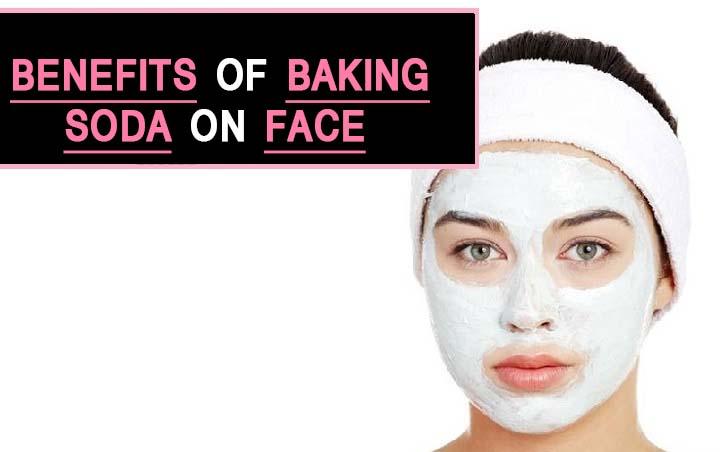 Benefits of Baking Soda on Face