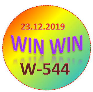 Kerala Lottery Official Result Win Win W-544 23.12.2019