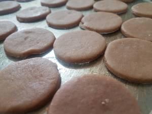 receta Alfajores de Maicena con chocolate