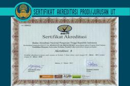 Tinggal Menghitung Hari Pendaftaran CPNS dan PPPK 2021, Silahkan DOWNLOAD SERTIFIKAT Akreditasi UT DAN Akreditasi PRODI UT SEMUA TAHUN