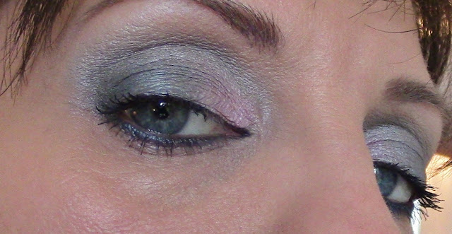 urban decay shallow, hot pants. misdemeanor, anonymous on eyes