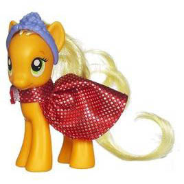 MLP Royal Ball Set Applejack Brushable Pony