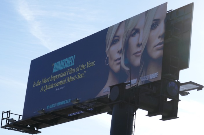 Bombshell must-see movie billboard