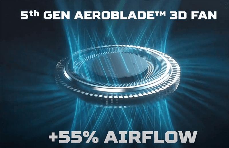 5th Gen Aeroblade fans