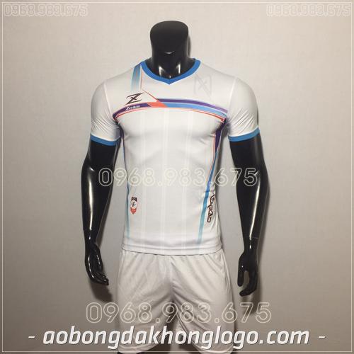 Áo bóng đá không logo Zavikia HAT Zavi màu trắng