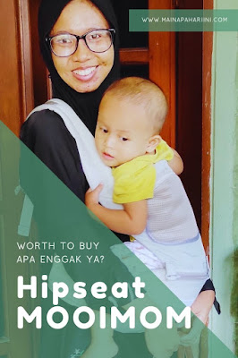 review casual hip seat carrier MOOIMOM