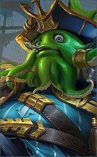 Bane Deep Sea Monster Heroes Fighter of Skins V3