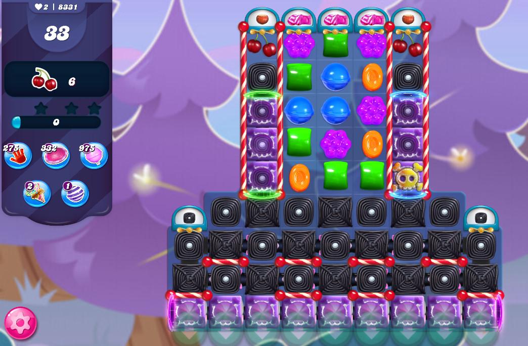 Candy Crush Saga level 8331