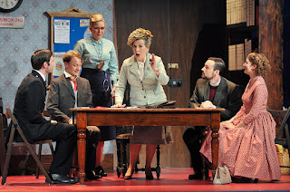 Janis Kelly, Simon Grange, William Wallace, Kieran Rayner, Sofia Larsson - Albert Herring - Royal College of Music - photo credit Chris Christodoulou
