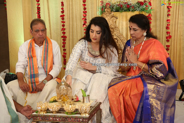 Archana Shastry Engagement