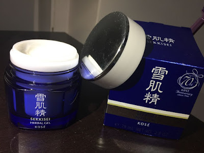 Review on Kose Sekkisei Herbal Gel