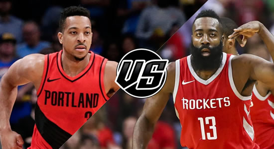 Live Streaming List: Portland Trail Blazers vs Houston Rockets 2018-2019 NBA Season