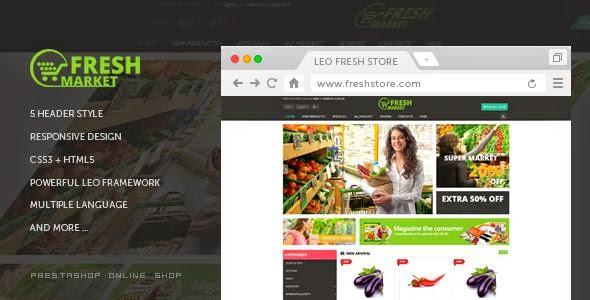 Fresh Store Responsive Prestashop Theme