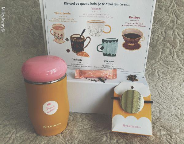 Goodies et accessoires de la box Thé ou Café ? My Little Box