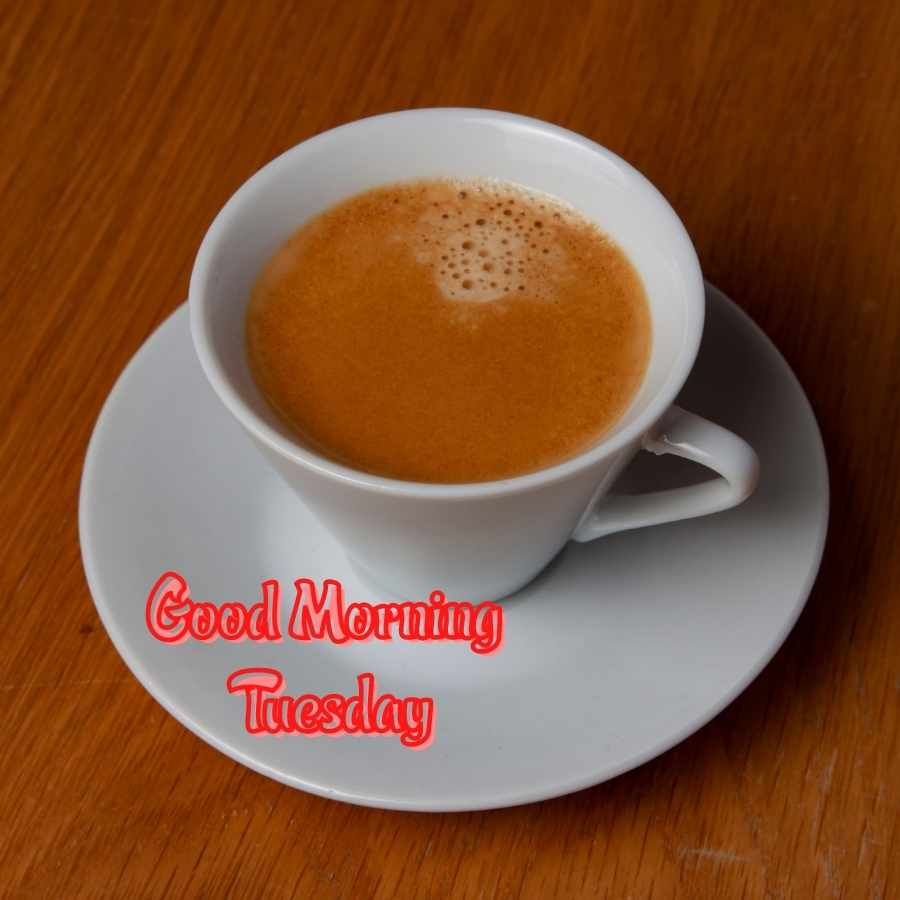 good morning tuesday coffee images