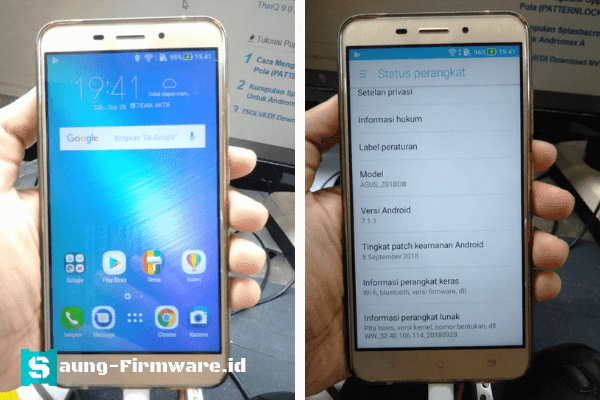 Asus Zenfone 3 Laser ZC551KL (Z01BDB) FRP Remove Done by Miracle Crack