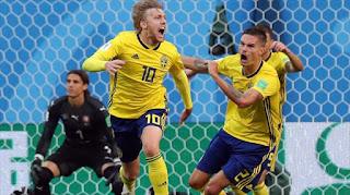 Rusia 2018: Suecia-Suiza (Octavos de Final).