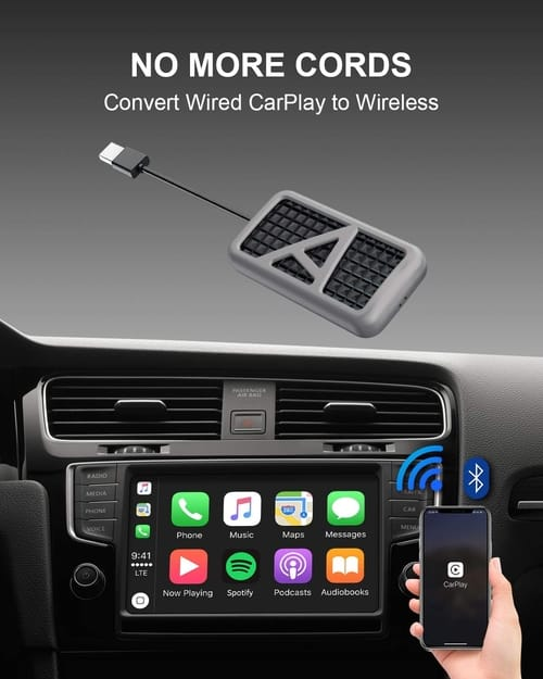 APPS2Car Wireless USB Dongle for Factory CarPlay