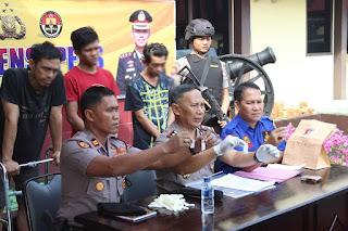 Konsumsi Shabu di Kamar Hotel, Pria Asal Bangkinang Ditangkap