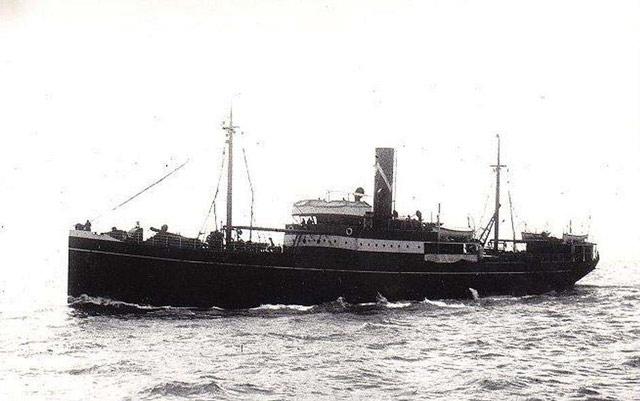 British freighter Allister, sunk on 29 May 1942 worldwartwo.filminspector.com