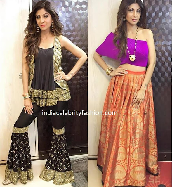Shilpa Shetty's Two New Looks