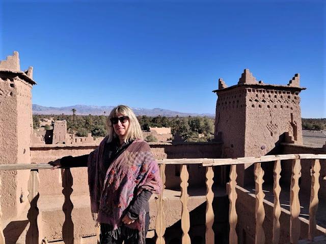 le torri della kasbah di amridil