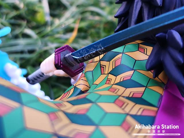 Review de Figuarts ZERO Giyu Tomioka - Water  de Kimetsu no Yaiba - Tamashii Nations.