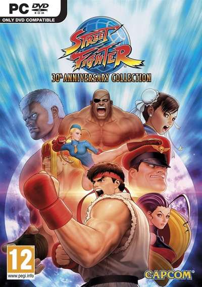 Street Fighter 30th Anniversary Collection - PC FULL - Multi5 - Portada