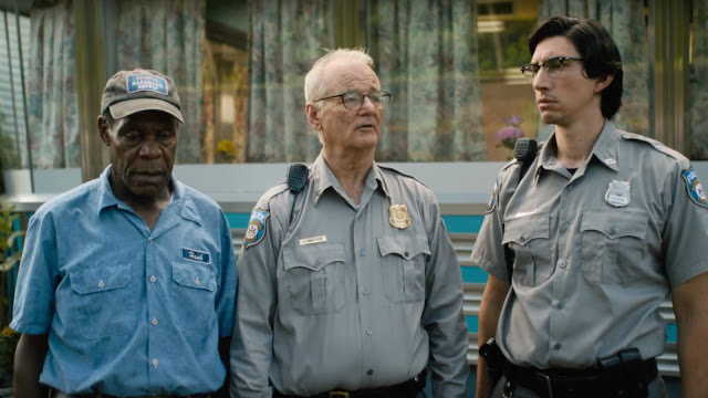 Danny Glover, Bill Murray, and Adam Driver as sheriffs.