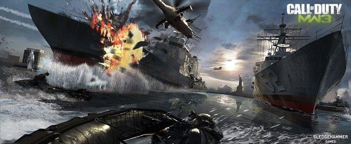 Modern Warfare Game Art