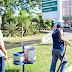 Ciclovias de Samambaia são sanitizadas