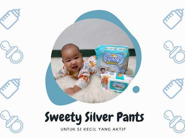 Popok Sweety Silver Pants untuk Si Kecil yang Aktif