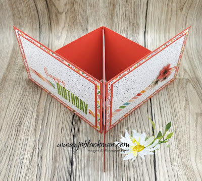 Side Display Double Easel Card