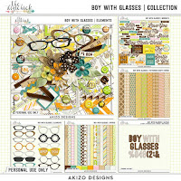 Kit : Boy With Glasses by by Akizo Designs