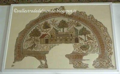 Tunisi museo mosaico