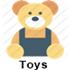 Toys (aparece ao passar o mouse)