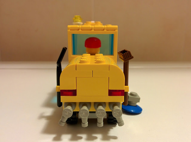 LEGO set 6649 spazzatrice - street sweeper