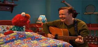 Ricky Gervais sings Celebrity Lullabies for Elmo. Sesame Street Best of Friends