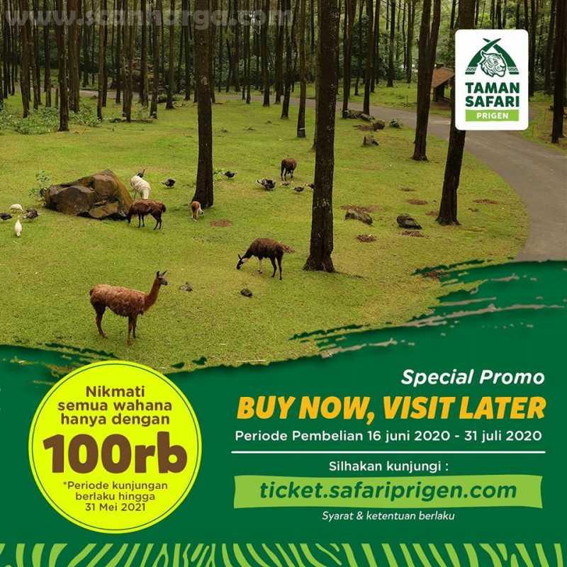 Promo Taman Safari Pringen Special Promo Tiket Semua Wahana Hanya Rp 100Rb!