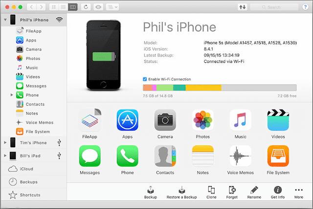 Screenshot iMazing 2.10.3 Full Version