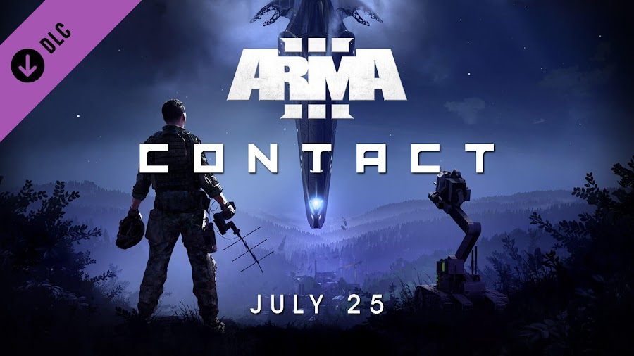 arma 3 contact spin off expansion announced bohemia interactive release date