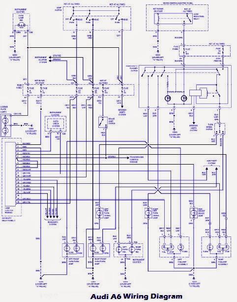 Audi Q7 Abs Wiring Diagram | Audi A6 2005 Wiring Diagram |  | 9